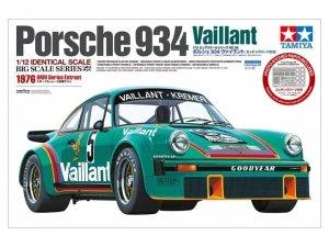 Tamiya 12056 Porsche 934 Vaillant 1976 DRM Series Entrant 1/12