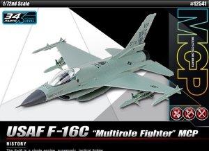 Academy 12541 USAF F-16C Multirole Fighter MCP 1/72