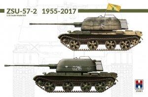 Hobby 2000 35001 ZSU-57-2 1967-2017 w/bonus (11 Painting and Marking) ( by TAKOM )1/35