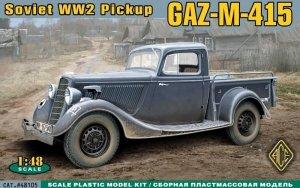 ACE 48105 GAZ-M-415 Pickup (1:48)