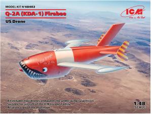 ICM 48402  Q-2A (KDA-1) Firebee, US Drone  1/48