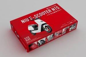 Trumpeter 07305 NIU E-SCOOTER N1S 1/12