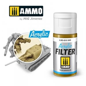 Ammo of Mig 0816 ACRYLIC FILTER Sand 15 ml