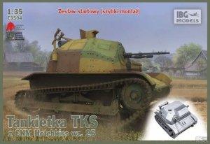 IBG E3504 Tankietka TKS z CMK Hotchkiss wz.25 (1:35)