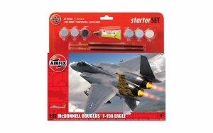 Airfix 55311 Large Starter Set - McDonnell Douglas F-15A Eagle 1/72