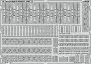 Eduard 481061 Lancaster B Mk.I bomb racks HKM 1/48