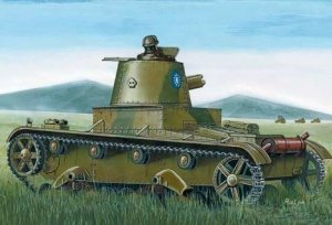 Mirage Hobby 72621 Chinese tank Vickers E Mk B (1:72)
