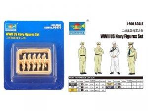 Trumpeter 06633 WWII U.S. Navy Figures (1:200)