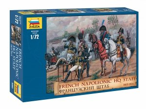 Zvezda 8080 French Napoleonic HQ Staff 1805-1814 1/72