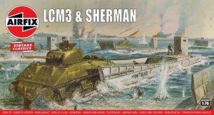 Airfix 03301V LCM3 & Sherman Tank 1/76