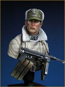 Young Miniatures YM1809 'TOTENKOPF' Division WWII 1/10