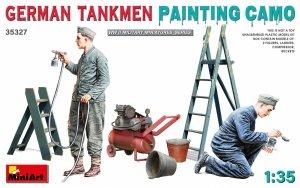 MiniArt 35327 GERMAN TANKMEN CAMO PAINTING 1/35