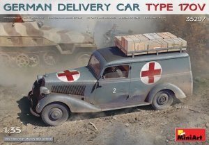 MiniArt 35297 GERMAN DELIVERY CAR TYPE 170V 1/35