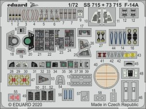 Eduard SS715 F-14A 1/72 GREAT WALL HOBBY