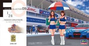 Hasegawa FC09 29109 Paddock Girls Figure 1/24