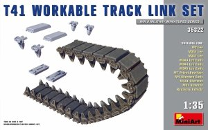 MiniArt 35322 T41 Workable Track Link Set 1/35