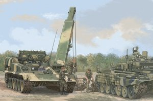 Trumpeter 09554 Russian BREM-1M Armoured Recovery Vehicle 1/35