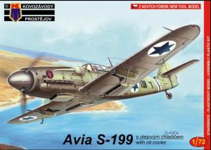 Kovozavody Prostejov KPM0049 Avia S-199 w/oil cooler 1/72