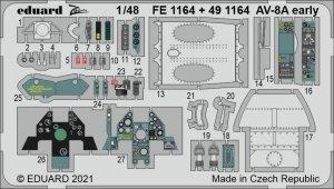 Eduard 491164 AV-8A early KINETIC 1/48