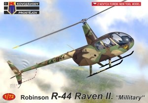 Kovozavody Prostejov KPM0216 Robinson R-44 Raven II. Military 1/72