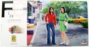 Hasegawa FC06 (29106) 70's Girls Figure 1/24
