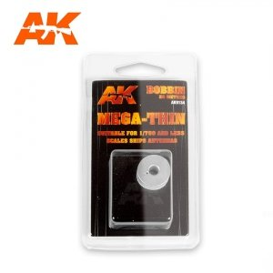 AK Interactive 9134 ELASTIC RIGGING BOBBIN MEGA-THIN 0,020 mm