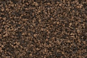 Woodland Scenics WB85 Dark Brown Coarse Ballast podsypka 400ml