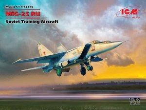 ICM 72176 MiG-25 RU, Soviet Training Aircraft 1/72