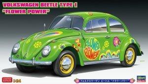 "Hasegawa 20488 Volkswagen Beetle Type 1 ""Flower Power"" 1/24"