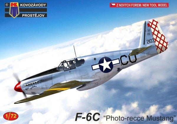 """Kovozavody Prostejov KPM0246 F-6C """"Photo-recce Mustang"""" 1/72"""