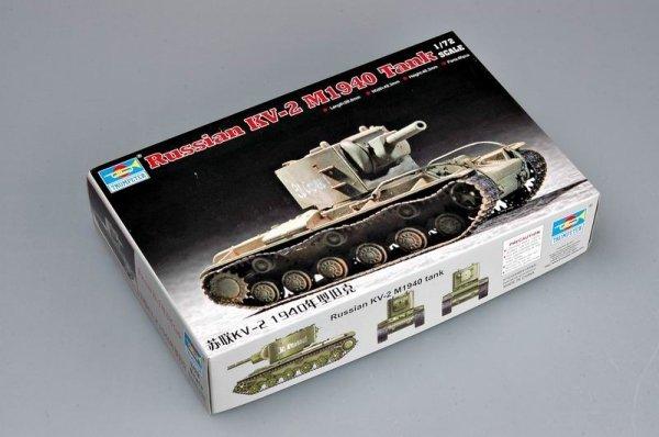 Trumpeter 07235 Soviet KV-2 M1940 tank (1:72)