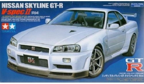 Tamiya 24258 Nissan Skyline GT-R V.spec II (1:24)
