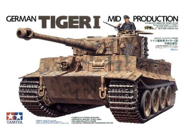 Tamiya 35194 German Tiger I Mid Production (1:35)