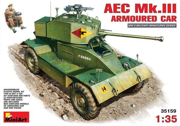 MiniArt 35159 AEC Mk.III ARMOURED CAR (1:35)