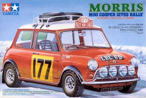 Tamiya 24048 Mini Cooper 1275S Rally (1:24)