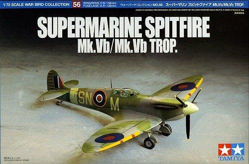 Tamiya 60756 Suprmarine Spitfire Mk. Vb/Mk. Vb Trop 1/72