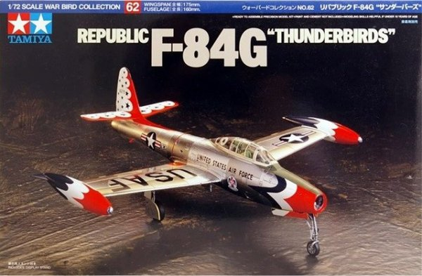 Tamiya 60762 Republic F-84G Thunderbirds (1:72)