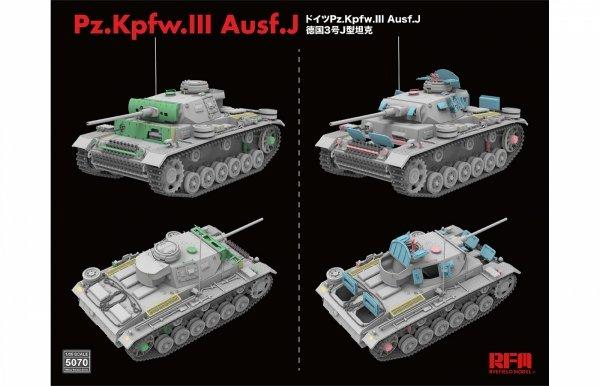 Rye Field Model 5070 Pz.Kpfw.III Ausf.J 1/35