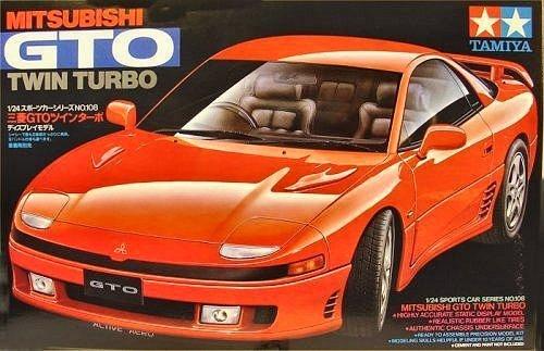 Tamiya 24108 Mitsubishi GTO Twin Turbo (1:24)
