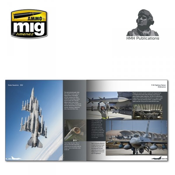 AMMO of Mig Jimenez DH-002 Aircraft in Detail: F-16 Fighting Falcon