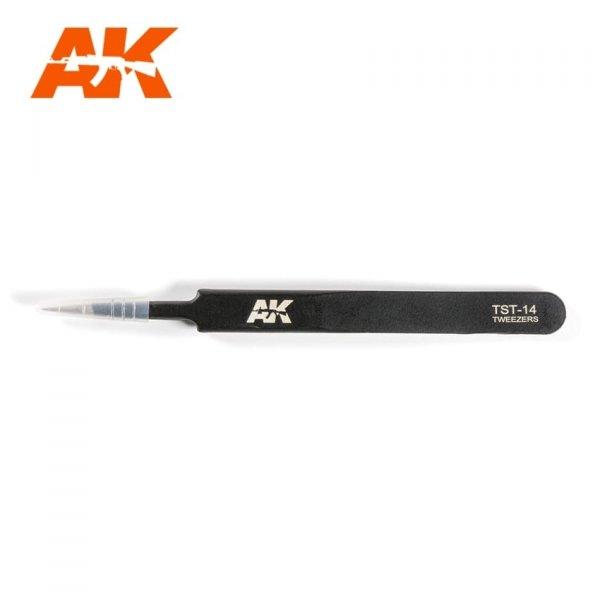AK Interactive AK 9008 PRECISE STRAIGHT TWEEZERS