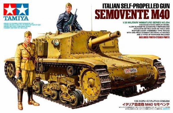 Tamiya 35294 ITALIAN SELF-PROPELLED GUN SEMOVENTE M40 (1:35)