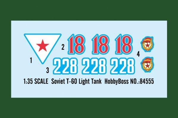 Hobby Boss 84555 Soviet T-60 Light Tank 1/35