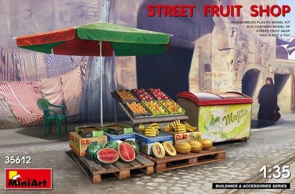 MiniArt 35612 STREET FRUIT SHOP 1/35