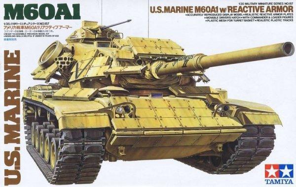 Tamiya 35157 U.S. M60A1 w/Reactive Armor (1:35)