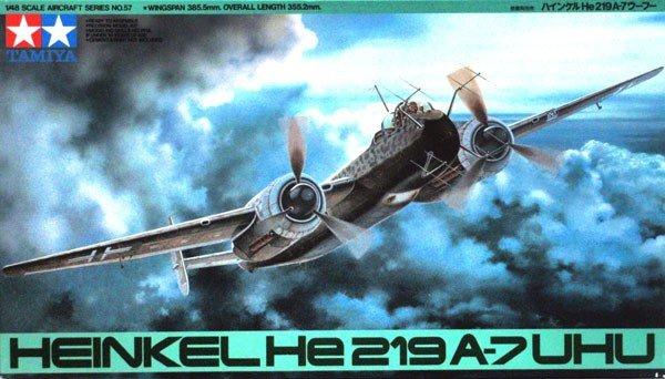 Tamiya 61057 Heinkel He219 A-7 Uhu (1:48)