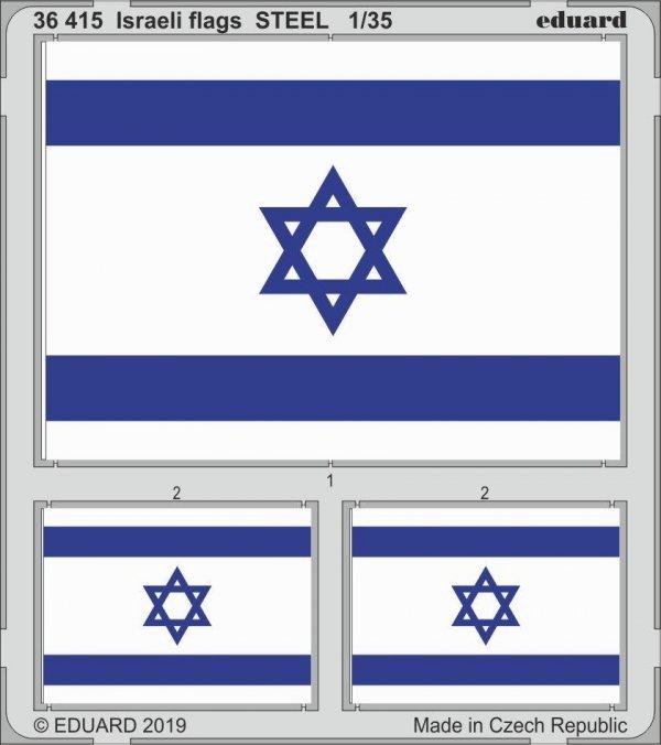Eduard 36415 Israeli flags 1/35
