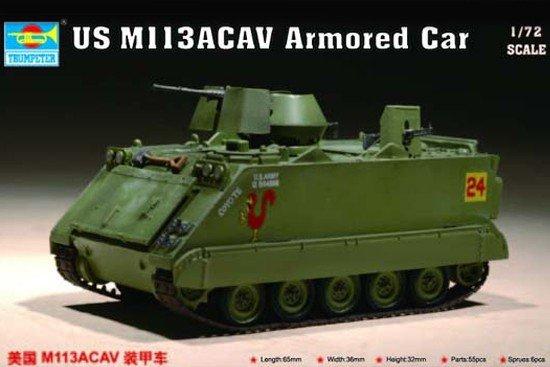 Trumpeter 07237 US M 113ACAV Armored Car (1:72)