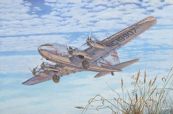 Roden 339 Boeing 307 Stratoliner 1/144