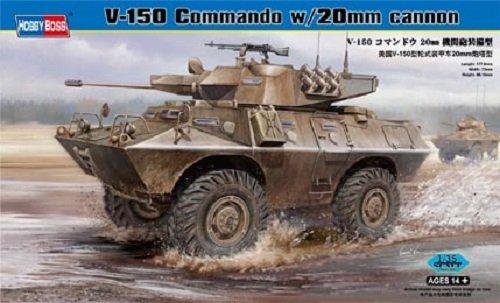 Hobby Boss 82420 V-150 Commando w/20mm cannon (1:35)